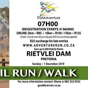 Rietvlei Adventure RunWalk