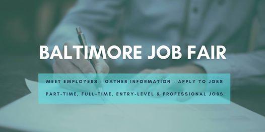 Baltimore Job Fair - July 23 2019 Job Fairs & Hiring Events in Baltimore
