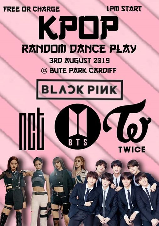 Kpop Random Dance Play Cardiff (ALL DANCE ABILITIES) at Bute