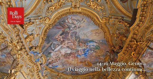 Rolli Days Live&Digital 14-16 maggio 2021 | Event in Genova | AllEvents.in