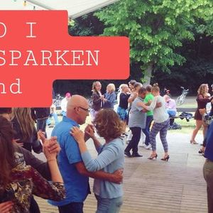 Tango i Stadsparken i Lund med Tangokompaniet