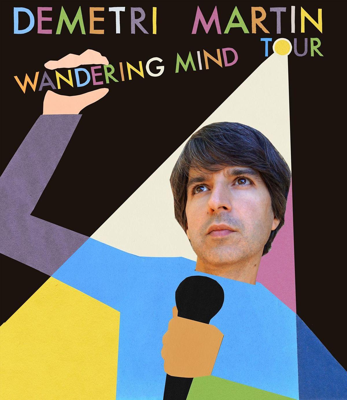 Demetri Martin Wandering Mind Tour