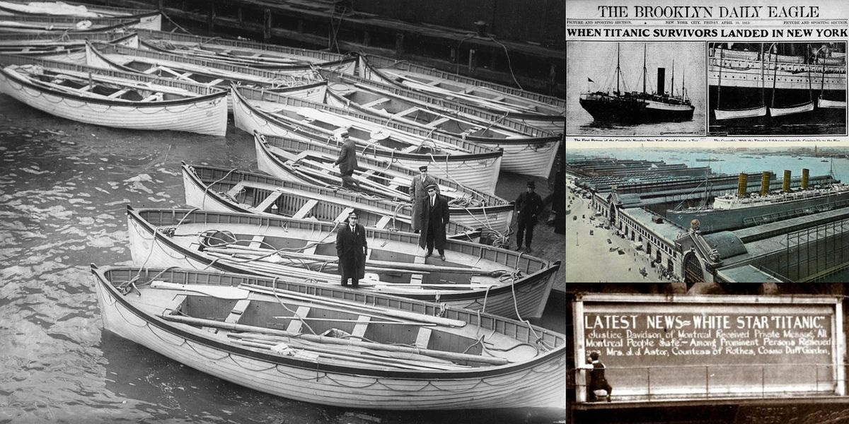 'The Titanic Epilogue: New York City After the Great Sinking' Webinar, 29 June | Online Event | AllEvents.in