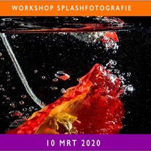 Workshop Splashfotografie 10 maart 2020
