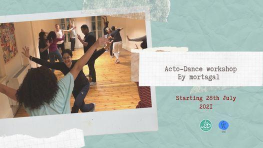 Actodance workshop by Mortagal ورشة اكتو-دانس مع فرقة مرتجل, 28 July | Event in Cairo