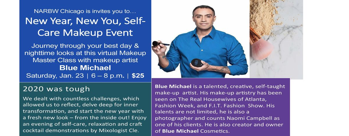New Year, New You - Self Care Makeup Event, 23 January   Online Event   AllEvents.in