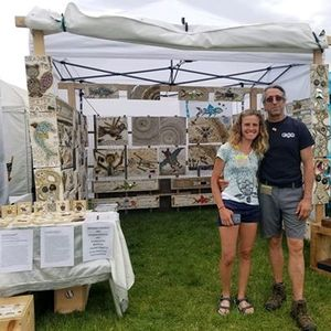 Modern Fossils at the Doylestown Arts Festival