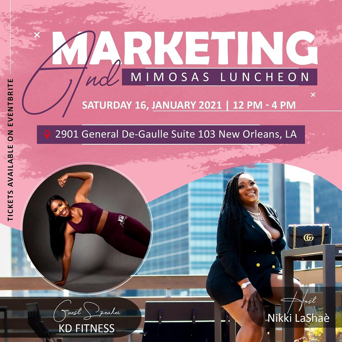Marketing & Mimosas Luncheon, 16 January | Event in New Orleans | AllEvents.in