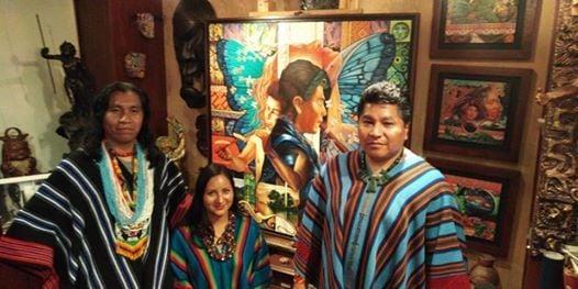 Ceremonia de ayahuasca y concierto de msica andina ancestral