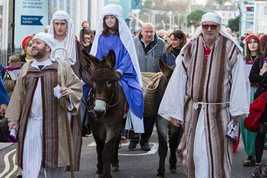 Falmouth Live Nativity 2019