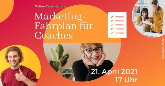 Marketing-Fahrplan für Coaches, 21 April | Online Event | AllEvents.in