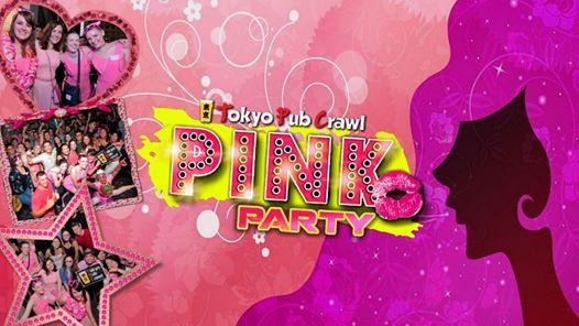 PINK pub crawl party (SAT)