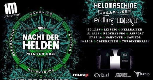 Nacht der Helden - Winter 2019