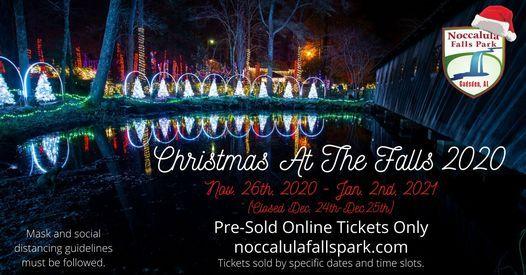 Christmas At Noccalula Falls 2020