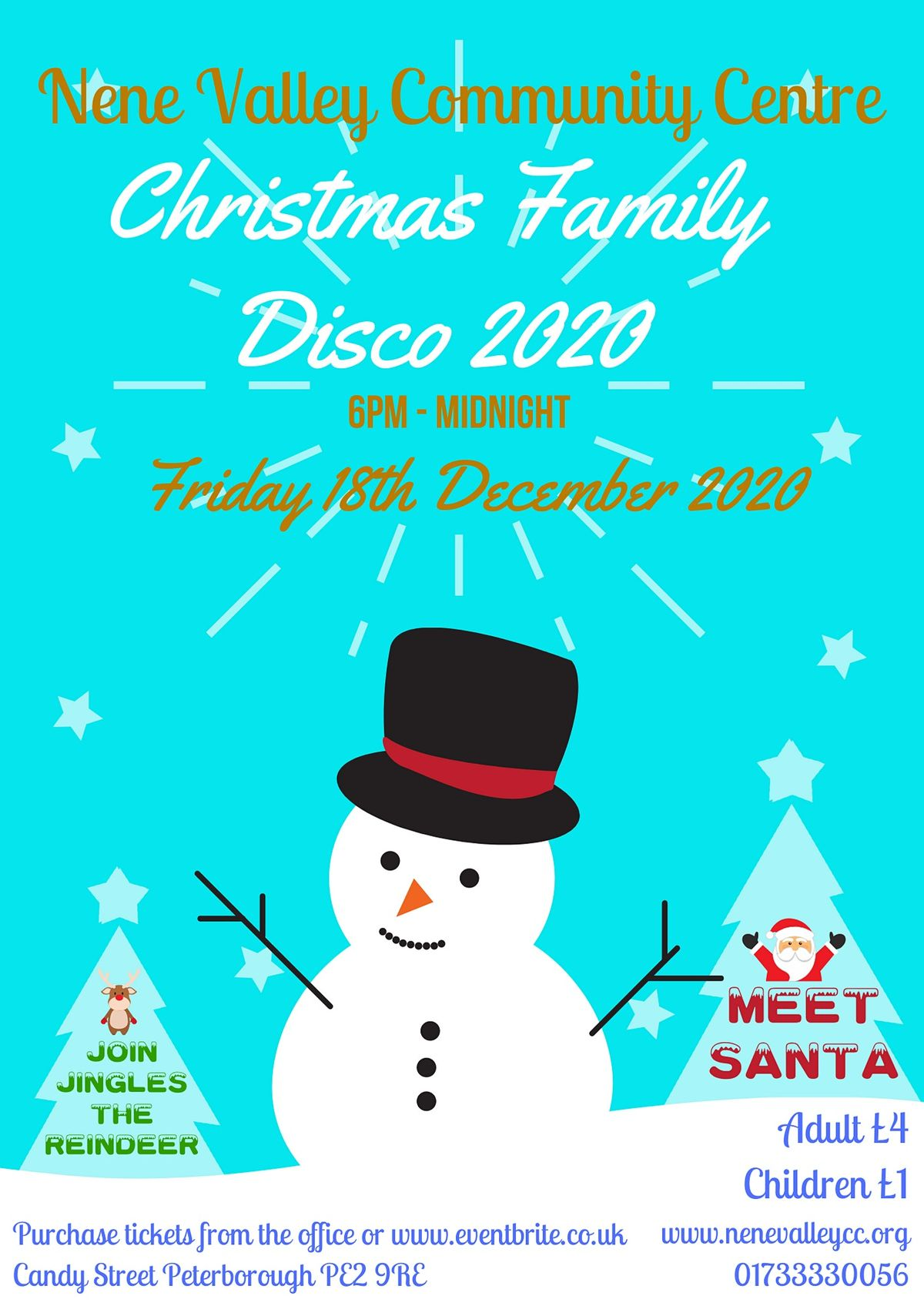 Christmas Family Disco, 17 December | Event in Peterborough | AllEvents.in