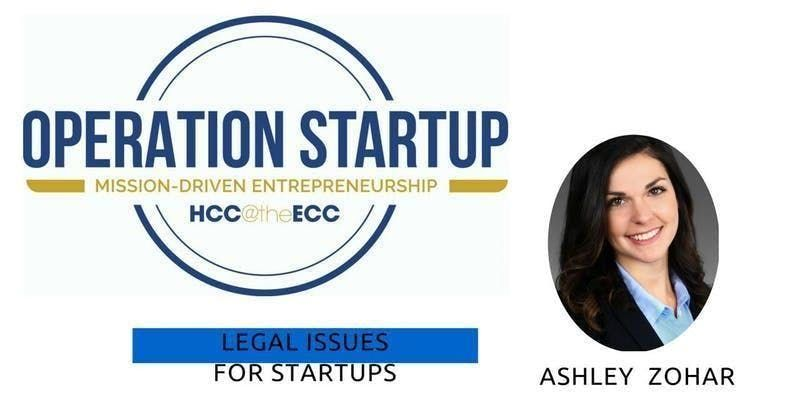 Legal Issues for Startups at Entrepreneur Collaborative