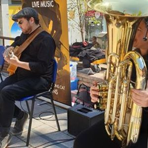 Concert amb els Easy Living Jazz Band a La Fira Modernista
