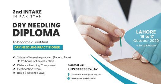 Dry Needling Diploma | Event in Karachi | AllEvents.in