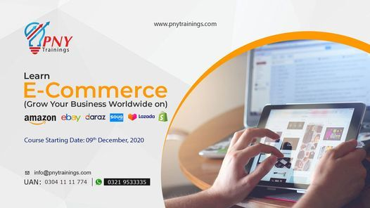 Learn E-Commerce (Grow Your Business WorldWide), 9 December | Event in Gujranwala | AllEvents.in