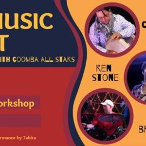 World Music Night feat. Coomba  Percussion Workshop
