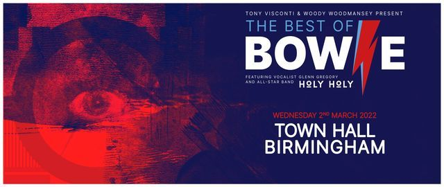 The Best Of Bowie at Town Hall | Birmingham, 2 March | Event in Birmingham | AllEvents.in