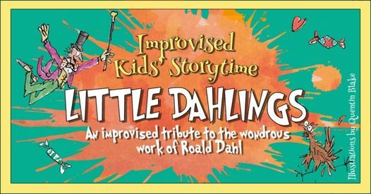 Improvised Kids' Storytime: Little Dahlings, 26 February   Event in Dubai   AllEvents.in