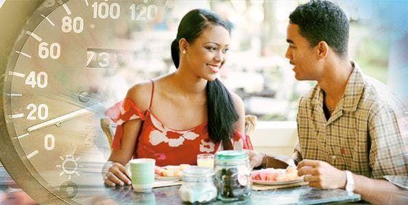 NYC Speed dating svart singler ikke dating noen