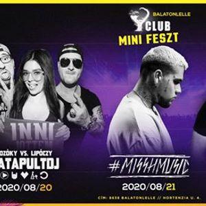 0820-21-22  Summer Mini Feszt Y Club Balatonlelle