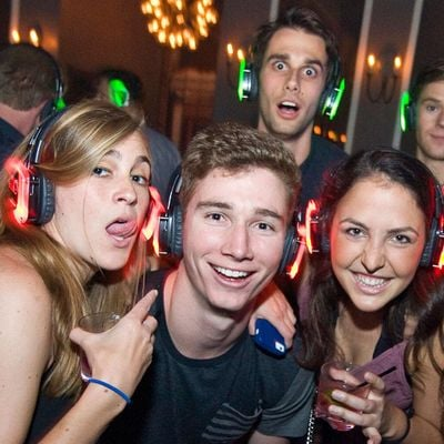 Silent Disco at The Domain
