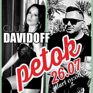 Sašo Mufa & Marija @Davidoff Night Club at Davidoff, Bitola