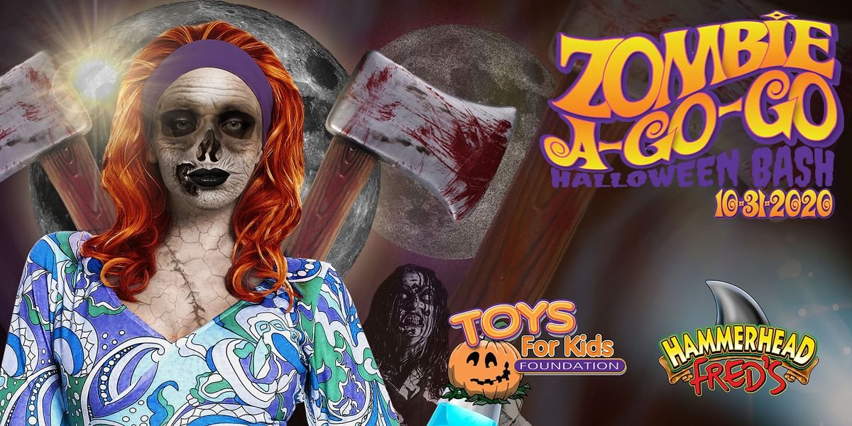 Panama City Halloween Events 2020 Toys for Kids Foundation Halloween Party 2020, Hammerhead Fred's