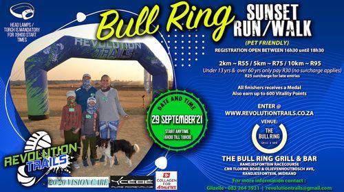 Bull Ring Sunset Run/Walk, 29 September   Event in Midrand   AllEvents.in
