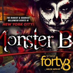 The Monster Ball 2021 - NYCs Biggest Halloween Weekend Parties
