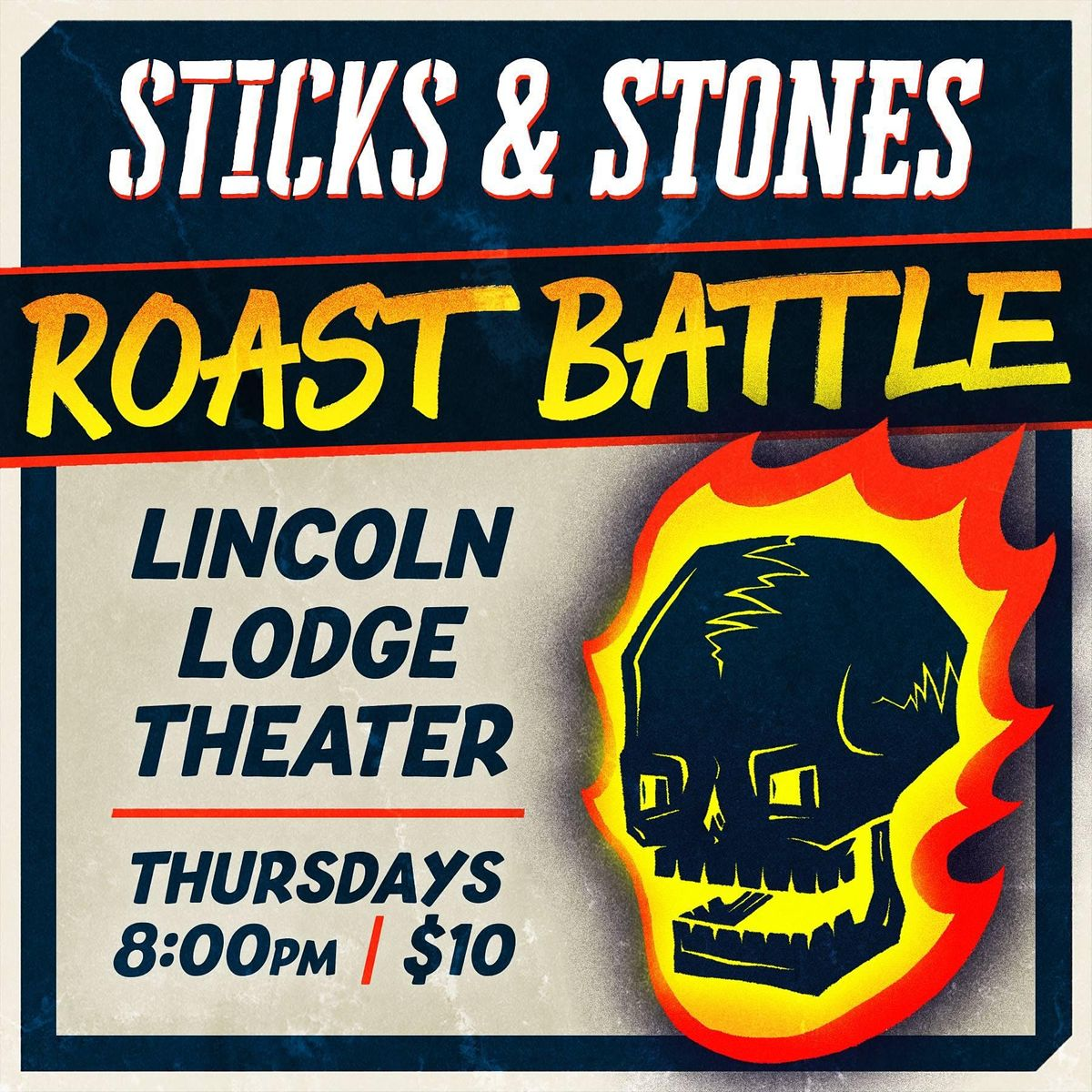 Sticks & Stones - A Roast Battle Comedy Show | Event in Chicago | AllEvents.in