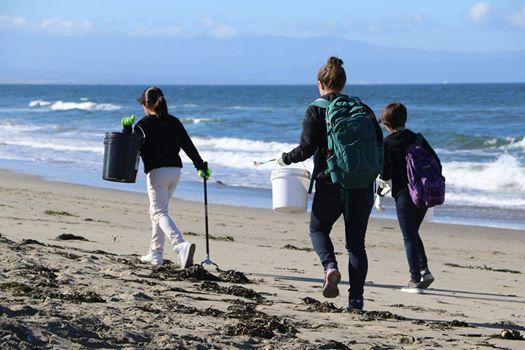 Public Beach Cleanup at Monastery Beach