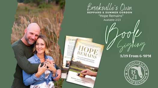 """""""Hope Remains"""" Book Signing w/ Reppard & Summer Gordan, 19 March 