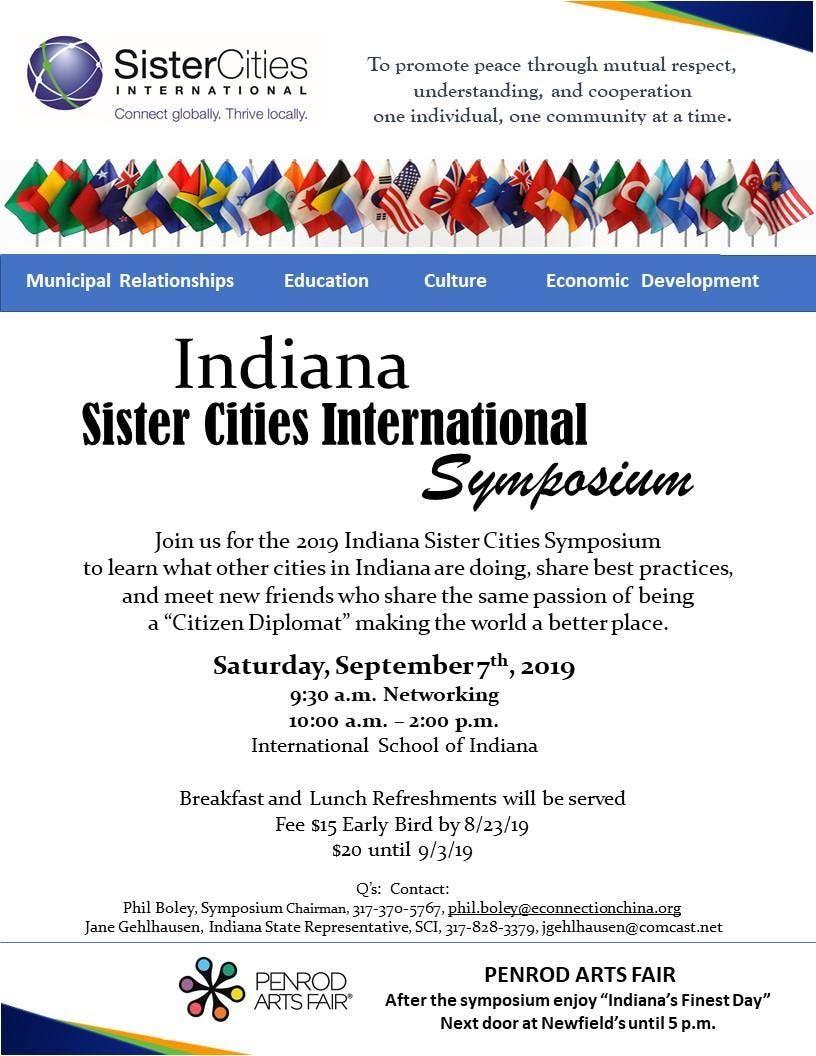 2019 Indiana Sister Cities Symposium