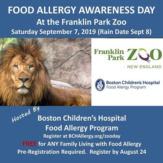 Food Allergy Awarenes Day at Franklin Park Zoo, Jamaica Plain