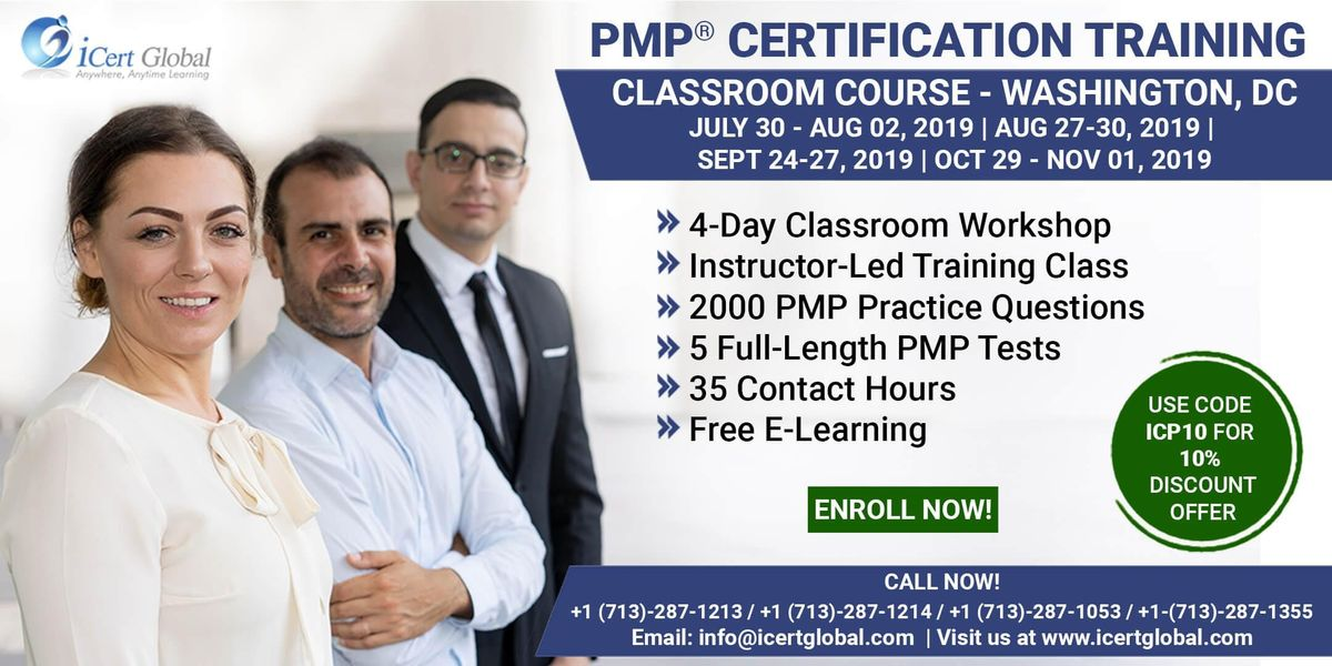 Pmp Project Management Certification Training In Washington Dc Usa 4 Day Pmp Boot Camp