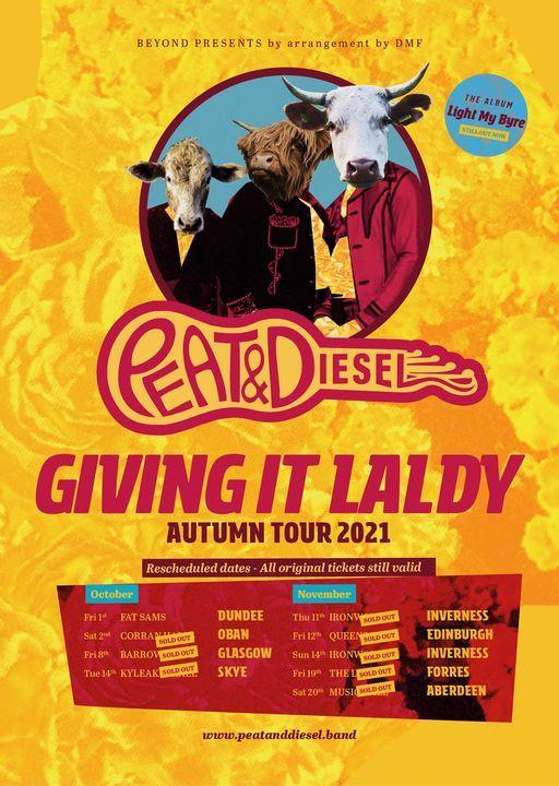 Peat & Diesel | Oban, 6 November | Event in Oban | AllEvents.in
