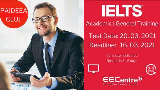 Examene IELTS in Cluj Napoca, 20 March | Event in Cluj-napoca | AllEvents.in