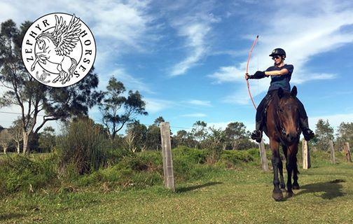 September Mounted Archery Clinic - Byron Bay