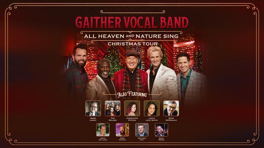 Gaither Vocal Band - Greenville, SC, 4 December | Event in Greenville | AllEvents.in