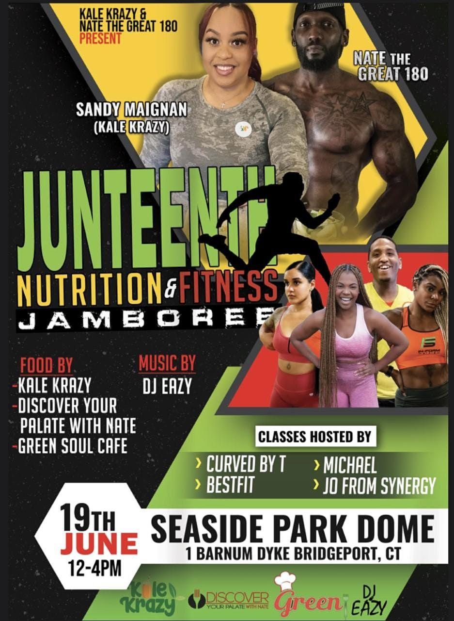 Juneteenth Nutrition & Fitness Jamboree | Event in Bridgeport | AllEvents.in