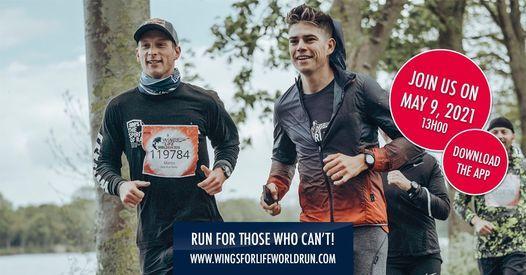 Wings for Life World Run 2021 - Belgium, 9 May   Event in Schaerbeek   AllEvents.in