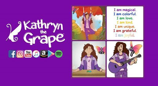 Family Yoga and Musical Storytime with Kathryn the Grape