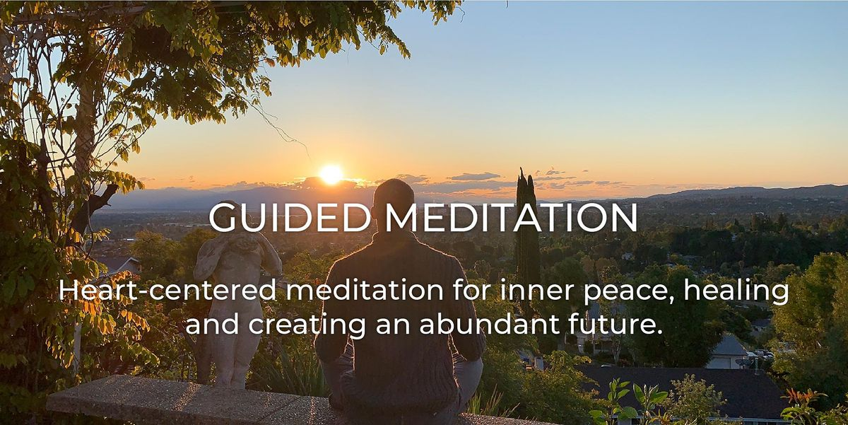 Heart Centered Guided Meditation via Zoom | Online Event | AllEvents.in