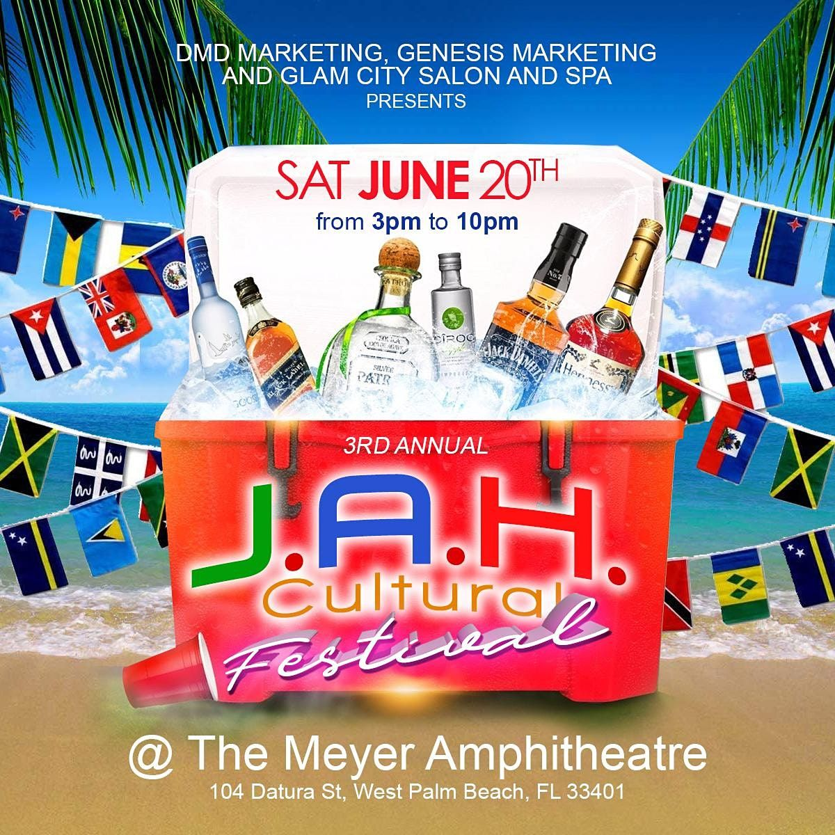 3rd Annual J.A.H Cultural Festival, 26 June | Event in West Palm Beach | AllEvents.in