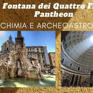 Fontana dei Quattro Fiumi e Pantheon - Alchimia & Archeoastronomia
