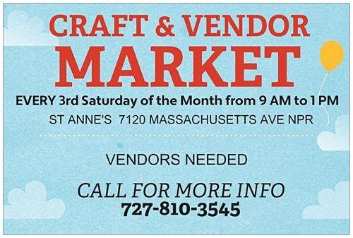Craft & Vendor Market and Health Fair